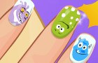 Juego Manicura Monster de Barbie